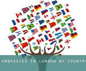 Embassies in London by Country