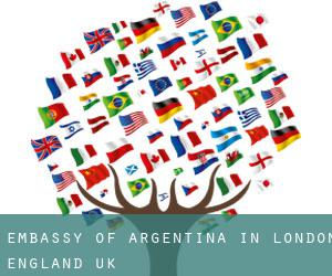 Embassy of Argentina in London, England (UK)